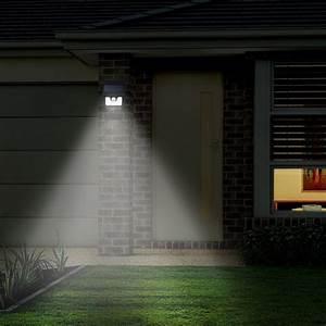Bright Motion Sensor Outdoor Light Solar Light Outdoor Waterproof Spotlight Stick Up Motion