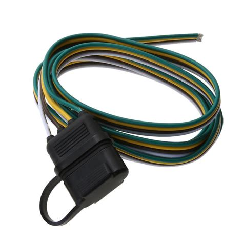 5ft 4pin plug trailer wire harness extension cable light