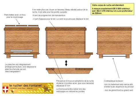 la construction du rucher le de rucher fontanel