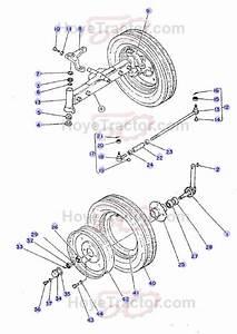 2wd Axle    Yanmar Tractor Parts