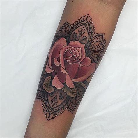 bildergebnis fuer tattoo mandala arm epaule tatouage