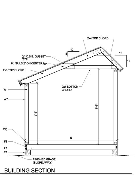 6x8 saltbox shed plans how to build a shed roof