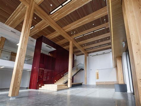north americas tallest wood building opens  british columbia