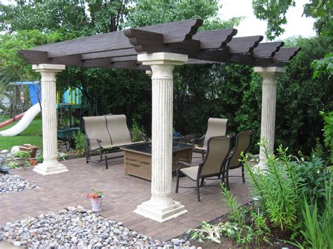 back patios new back patio with pergola nickett landscaping