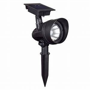 Duracell Solar Powered Black Outdoor Led Spot Light  6-pack -ss3p-p2-bk-t6