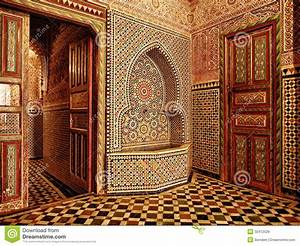 Moroccan doorway entrance stock image Image of arabic