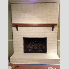 How To Paint A Brick Fireplace To Look Like Stone, Beatles