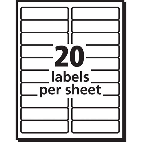 Free Template For Avery 5160 by Labels By The Sheet Templates And Avery Address Labels