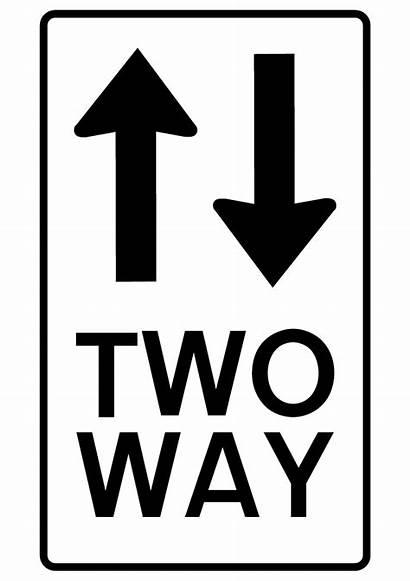 2way Arrow Signs Street