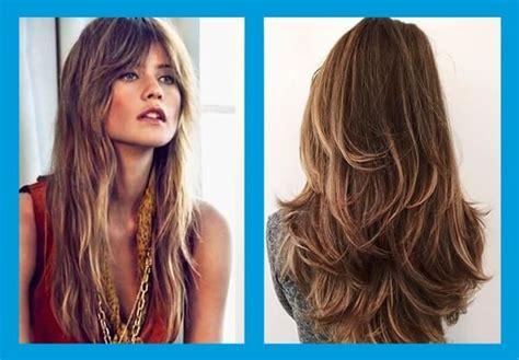 ideas de cortes de pelo largo  innovar los peinados