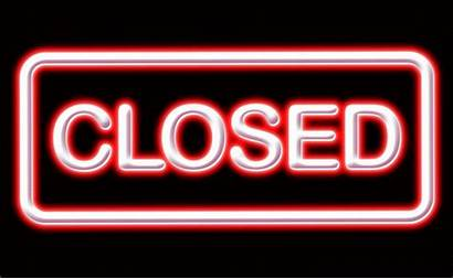 Win Sign Closed