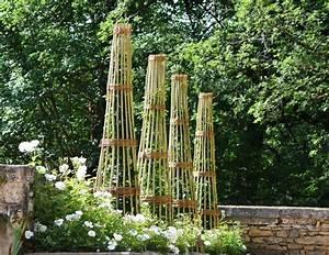 Support Plantes Grimpantes : comment fabriquer support conique plantes grimpantes ~ Dode.kayakingforconservation.com Idées de Décoration
