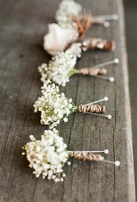 wedding flowers  babys breath wedding ideas