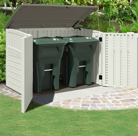 Suncast Outdoor Storage Shed by Suncast Kensington Six Horizontal Outdoor Storage Shed