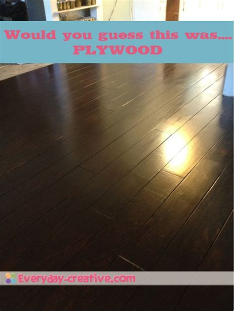 kitchen linoleum floors 25 best ideas about stained plywood floors on 2242