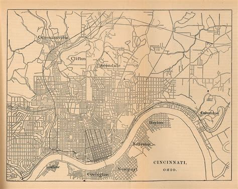 united states historical city maps perry castaneda map