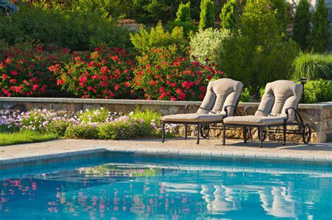 formal swimming pools cording landscape design
