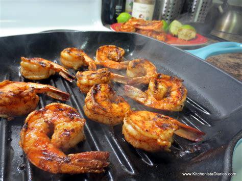 mexican quinoa salad grilled shrimp  kitchenista
