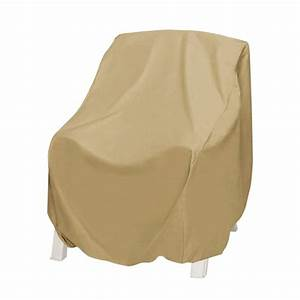 Two dogs designs khaki oversized patio chair cover 2d for Two dogs furniture covers