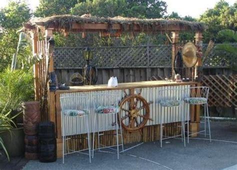 Tiki Bar Ideas by Tiki Bar Ideas For The Home Backyard Http Www