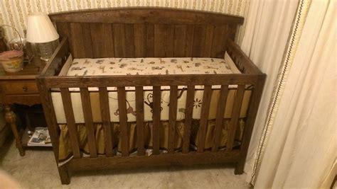 rustic baby cribs rustic baby crib decofurnish