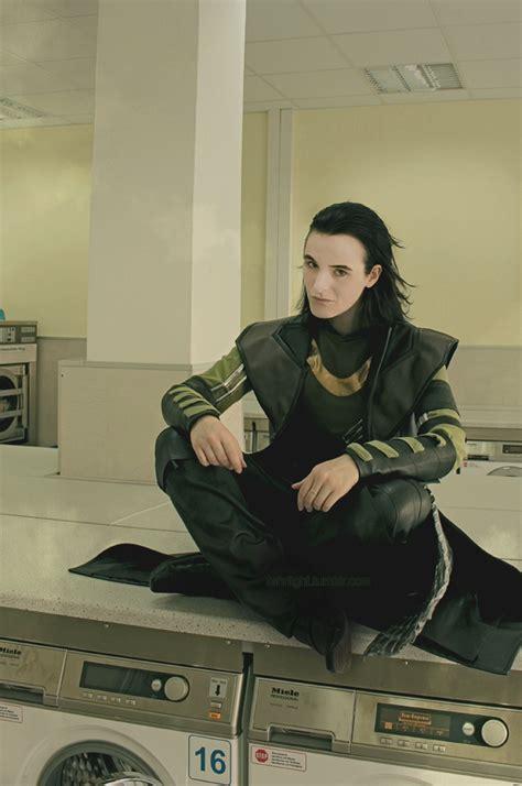 Loki Cosplay Whys He At A Laundromat Eheheh Bright