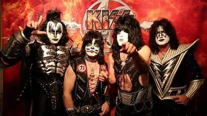 Kiss Band Rock Wallpapers Vegas Las Shows