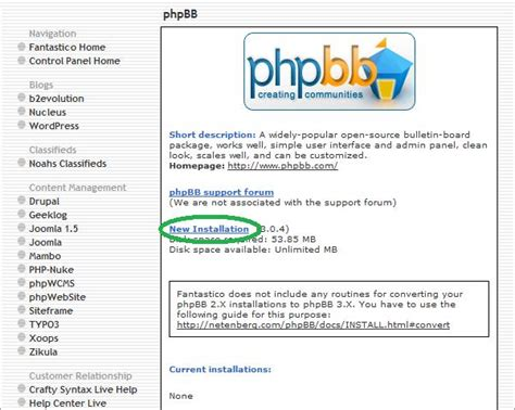 """How To Install """"phpbb"""" From Your Cpanel  Arvixe Blog"""