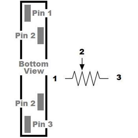slide potentiometer log 10k mixer variable resistor ebay