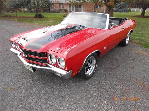 1970 For Sale by 1970 Chevrolet Chevelle Ss 454 Ls5 Convertible For Sale