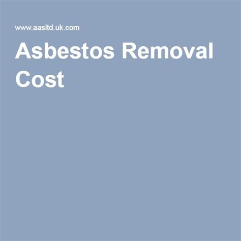 best 25 asbestos removal cost ideas on