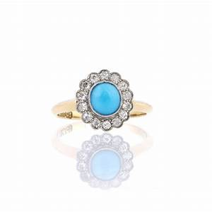 unusual engagement rings round turquoise engagement rings cut With turquoise and diamond wedding ring