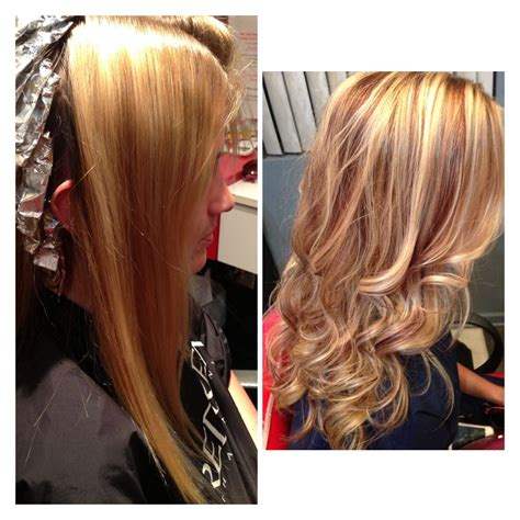 Blonde Hair With Red Highlightsmust Get This Hair