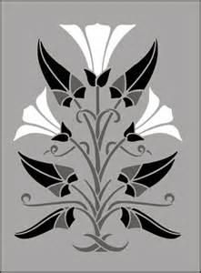 Art Nouveau Stencil Designs