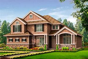 Craftsman House Plan With Side-load Garage