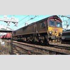 Euro Cargo Rail, Class 66 Locomotive Youtube