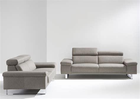 canape avec tetiere acheter votre canapé 2 places avec tétière réglable chez