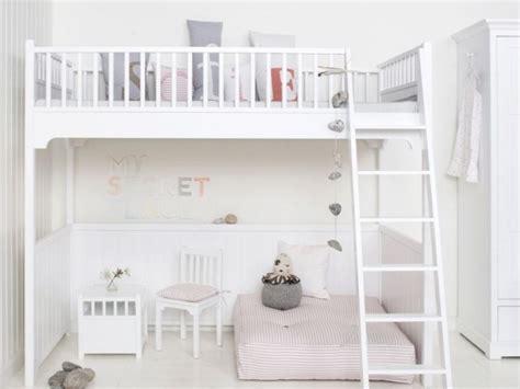 chambre fille blanche du blanc chez les enfants joli place