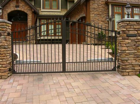house security fence security gates for homes tennessee valley fence you ll love us around your place