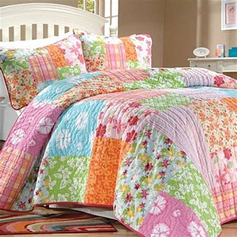 Aloha Tropical Quilt Girls Bedding Collection Quilts