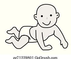 vector art illustration  disposable diapers clipart