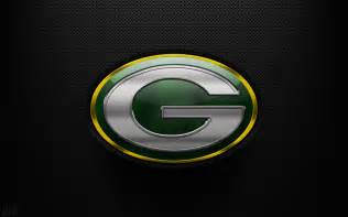 Green Bay Packers Logo as Background