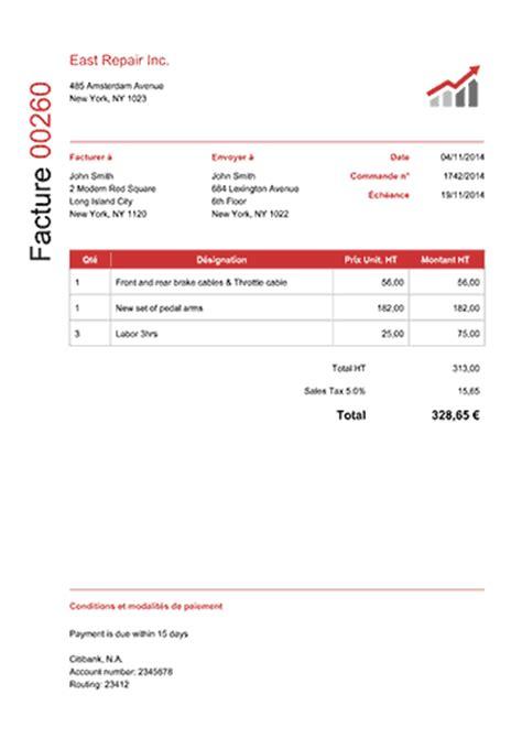 location bureau professionnel modèle de facture 100 modèles pdf télécharger ou envoyer