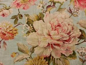 Shabby Style Onlineshop : english garden shabby chic style french country linen fabric drapery fabric cv100 os ~ Frokenaadalensverden.com Haus und Dekorationen
