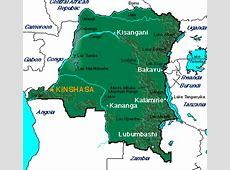 ABC Maps of the Democratic Republic of Congo; Flag, Map