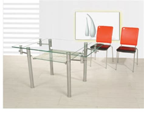 Tempered Glass Top Computer Desk by Glass Rectangle Dining Room Table Rectangle Dining Room