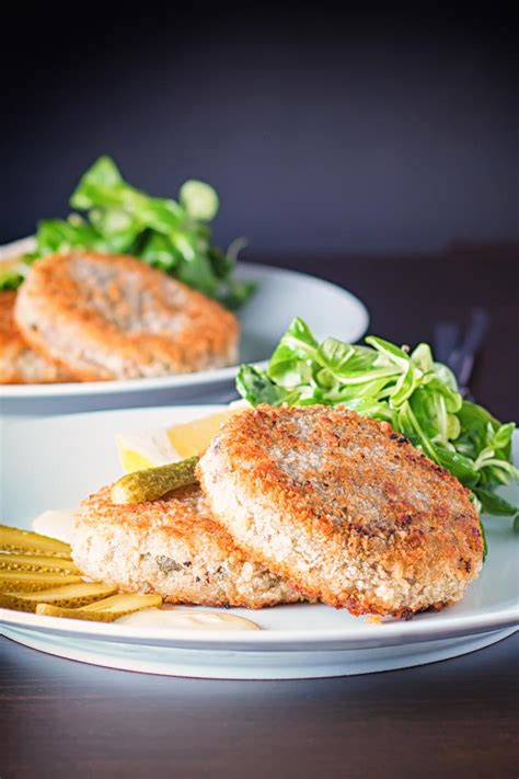 canned mackerel fish cakes krumpli