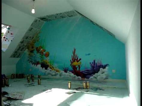 aérosoleil fresque deco graff chambre d 39 enfant thème