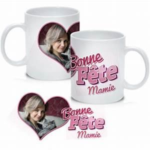 Mug Fete Des Meres : mug photo bonne f te mamie personnaliser ~ Teatrodelosmanantiales.com Idées de Décoration
