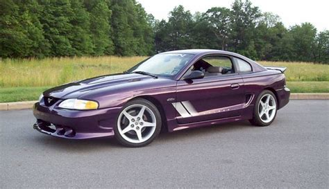 Deep Violet Purple 1997 Saleen S281 Ford Mustang Coupe